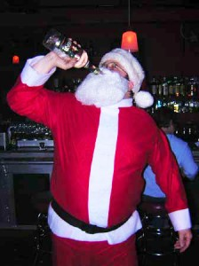 Santa loves Black Label