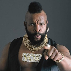 I pity the fool who doesn't cycle!